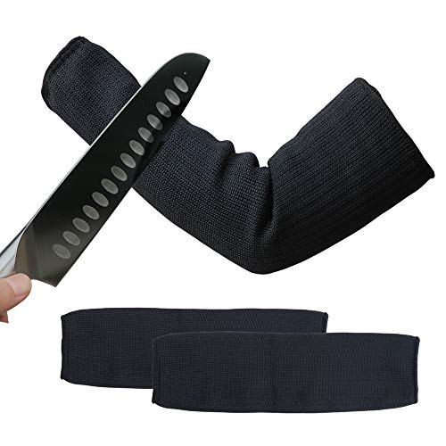 XHSJ Arm Protective Sleeves Level 5 Protection Slash Resistant Sleeves Scrapes and Scratches Resistant Skin Irritations UV-Protection 1 Pair (1) ()