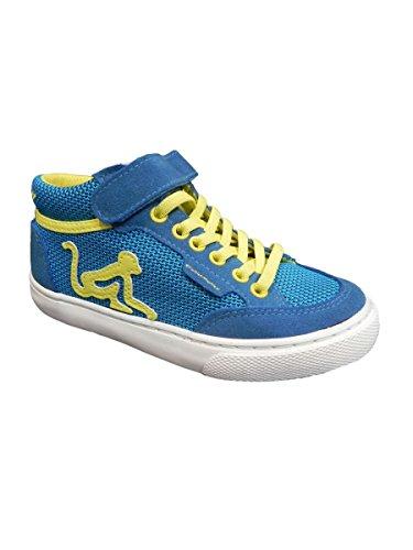 Bambino Mid Sneaker Collo Azzurro a DrunknMunky Alto Boston UwYq5Rga