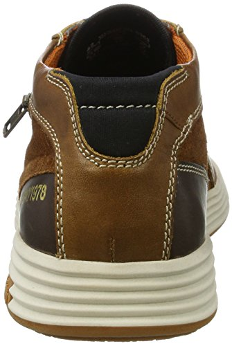 Bugatti Men's 322284301214 Trainers, Brown Brown (Cognac / Cognac 6363)