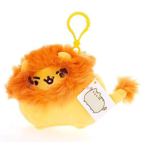 Pusheen Claire's Girl's Pusheenimals Lion Plush Toy Clip - Orange