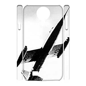 J-LV-F Cell phone Cases Airplane Hard 3D Case For Samsung Galaxy S4 i9500