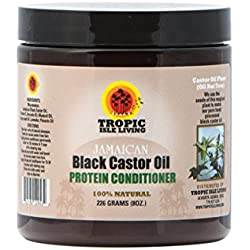 Tropic Isle Living- Jamaican Black Castor Oil Protein Hair Conditioner, 8 oz