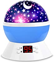 MOKOQI Projector Accessories Lamps Star Projector Night Lights for Kids with Timer, Gifts for 1-14 Year Old Girl and Boy,...