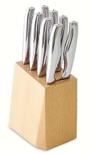 Schmidt Brothers Cutlery, SDIJS09, Diamond 9 Piece Steak Knife Set