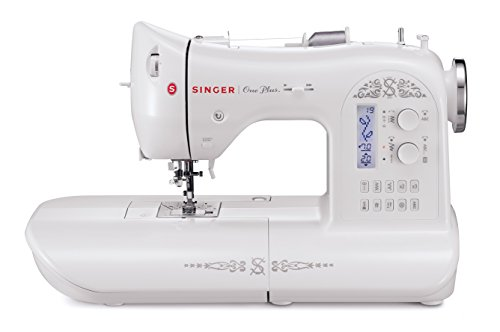 Choir member One Plus 221-Stitch Computerized Sewing Machine with LCD Screen and Instructional DVD