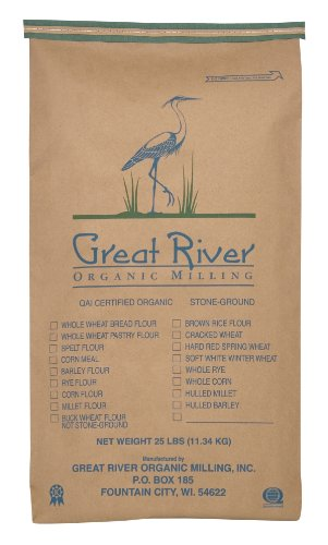 Great River Organic Milling Lily White Bread, 25 Pound