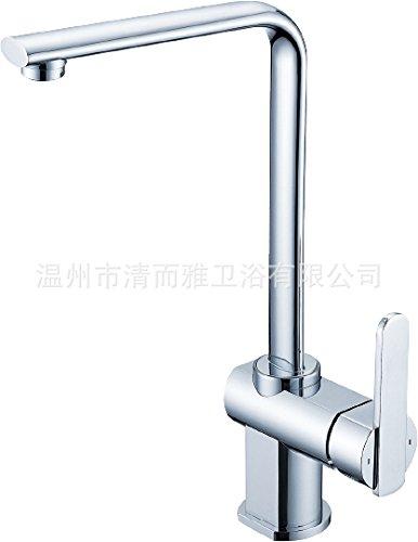 JIAHENGY Sink Mixer Faucet tap Modern fashion simple fashion Leadfree Brass SingleleverVessel Basin TallBrushed Nickel Toilet Kitchen bathroom