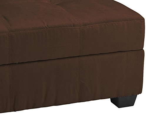 36 Quot X 24 Quot X 18 Quot High Tufted Padded Hinged Storage Ottoman