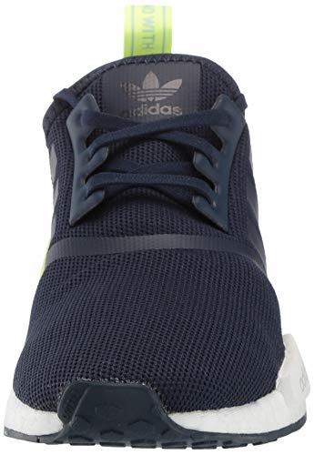 adidas Originals Unisex NMD_R1 Running Shoe, Collegiate Navy/ice Mint, 3.5 M US Big Kid by adidas Originals (Image #4)