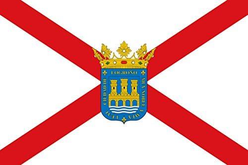 magFlags Bandera Large Ciudad de Logroño es La Rioja - España ...