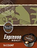 Tully's Espresso Roast Vue Packs for VUE Brewers (96 VUE Packs)