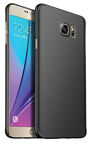 SmartLike Silicone Back Cover for Samsung Galaxy Note 5   Black