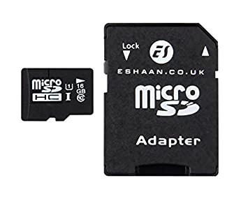 Tarjeta Micro SD de 16 GB Clase 10 ES Trader H2TESTW Pass ...