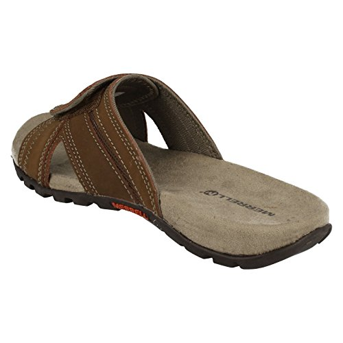 Merrell Mens Sandals Sandspur Pine Dark Earth Earth