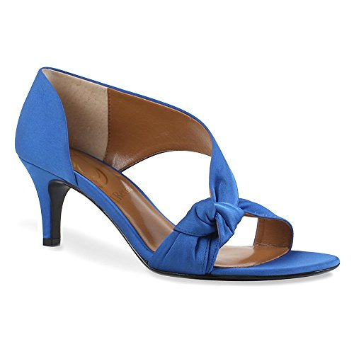 Renee Pump Crepe J Blue Satin Women's D'Orsay Jaynnie Royal TSwvP