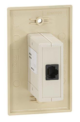 Black Box Wallplate Data Isolator 10/100/1000-Mbps 4K by Black Box