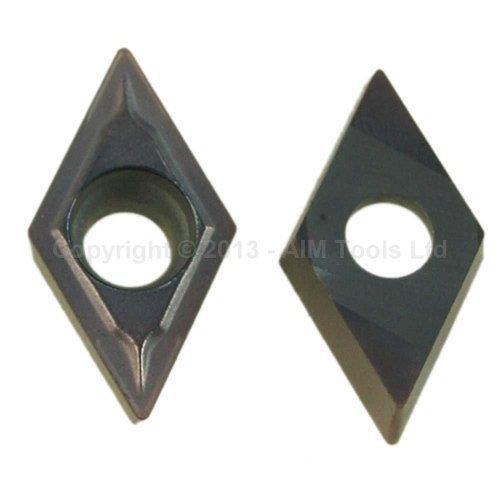 111319XA DCMT11T304 2Pcs Indexable Inserts For CNC Lathe Cutting Milling Tools KATSU Tools