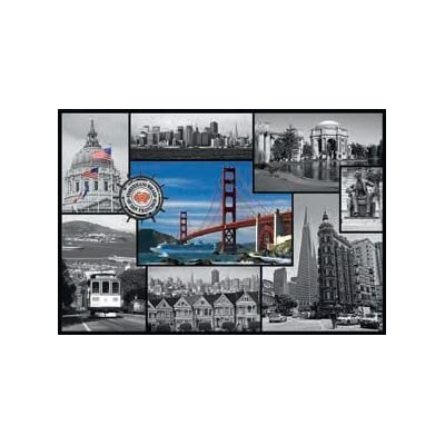 1500 PC SAN FRANCISCO - COLLAGE: Toys & Games