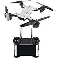 SG-SG700 2.0MP Wide Angle Camera Wireless FPV Collapsible 6-Axis Gyro RC Quadcopter Helicopter Live Video and RTF Quadcopter HD WIFI Camera (A)