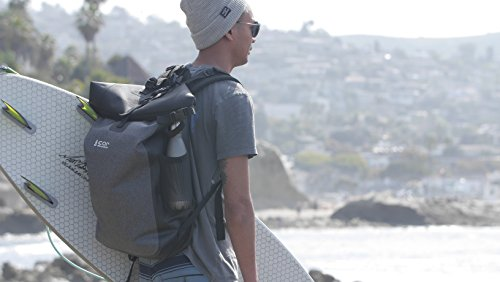 b63c50a5bb13 Waterproof Backpack - Ultralight 40L Dry Pack with Removable Laptop Sleeve  and Secret Passport Pocket by