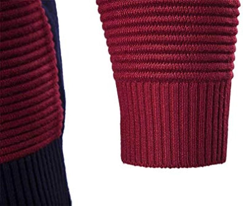 Saoye Fashion męska kurtka z długim rękawem casual cardigan Knit sweter outwear ubranie coat jesień zima kurtka z dzianiny płaszcz: Odzież