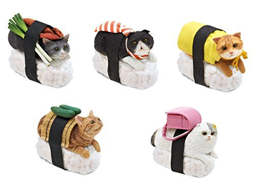 Nekozushi-Sushi-Cat-Blind-Box-Figure