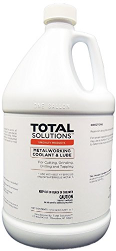 Metal Working Coolant & Lube, Synthetic, dilutable concentrate - 4X1 Gallon Case by EcoClean Solutions