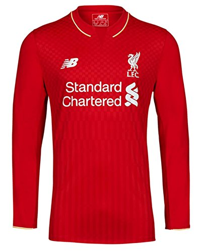 New Balance Liverpool Home Long Sleeve Jersey [Red] - Liverpool Long Sleeve Jersey