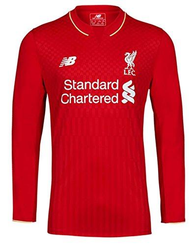 New Balance Liverpool Home Long Sleeve Jersey [Red] - Sleeve Liverpool Jersey Long