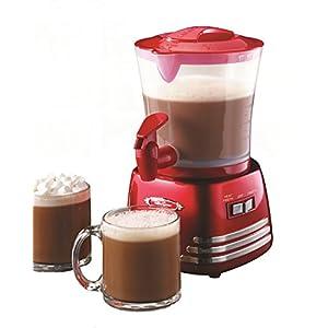 Nostalgia HCM700RETRORED Retro Series 32-Ounce Hot Chocolate Maker with Easy-Pour Spigot