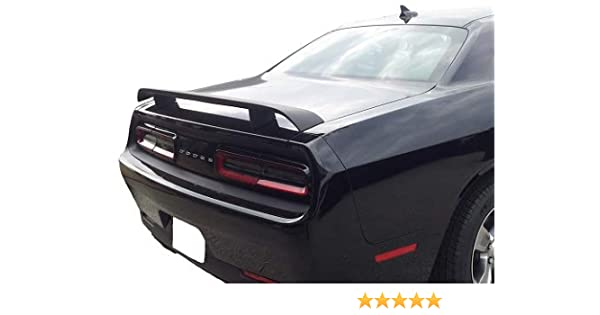 fits Dodge CHallenger Painted Spoiler Wing Matte BLACK MTB