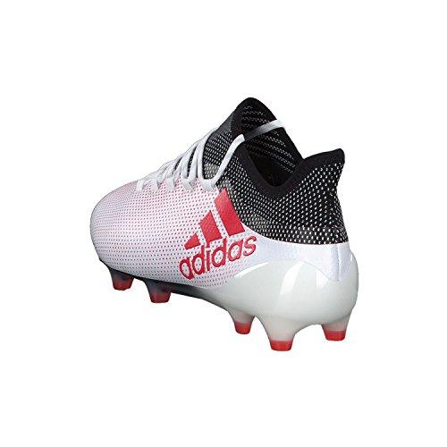 adidas Herren X 17.1 FG Fußballschuhe Weiß (Ftwwht/Reacor/Cblack)