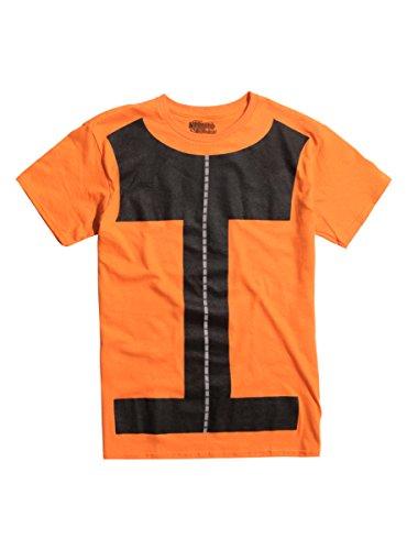 [Naruto Shippuden Naruto Cosplay T-Shirt] (Naruto Shippuden Costume)