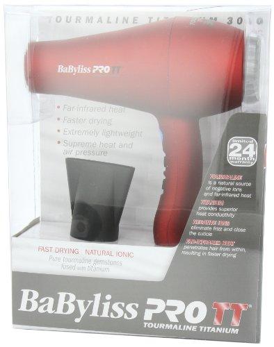 BaBylissPRO Tourmaline Titanium 3000 Dryer