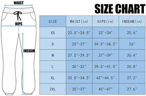 Women's Cotton Sweatpants High Waisted Pants with Pockets Athletic Fit Joggers for Women Lounge,Jogging