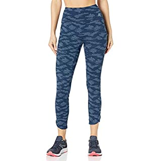 New Balance Women's Q Speed Run Crew Tight, Natural Indigo, XS