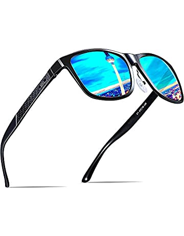 7cdf57cdc5 ATTCL Men s Retro Driving Polarized Sunglasses Man Al-Mg Metal Frame Ultra  Light