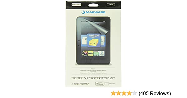 Amazon Device Accessories will only fit Kindle Fire HD 7 Amazon Devices & Accessories Marware 3-Pack Ultra-Clear Screen Protector for Kindle Fire HD 7