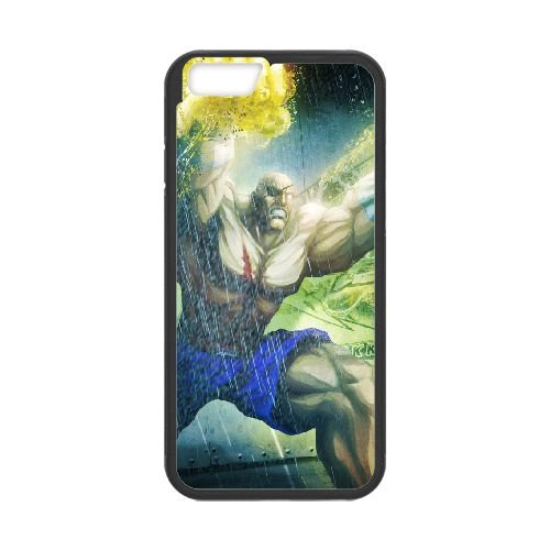 Street Fighter X Tekken, Sagat, Magic, Fists coque iPhone 6 4.7 Inch cellulaire cas coque de téléphone cas téléphone cellulaire noir couvercle EEECBCAAN04598