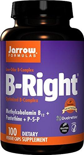 Jarrow Formulas B-right Complex, BestQuantity Pack of 100 Capsules (Pack of 3) by Jarrow Formulas