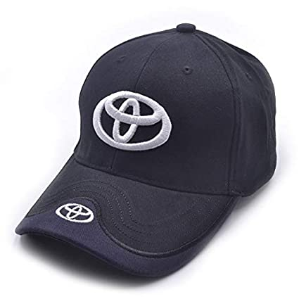 65e54cd7595 Image Unavailable. Image not available for. Color  Auto sport Car Logo  Black Baseball Cap F1 Racing Hat fit Toyota Accessory