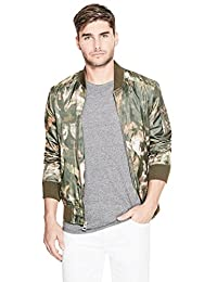 GUESS Men's Jayden Bomber Jacket