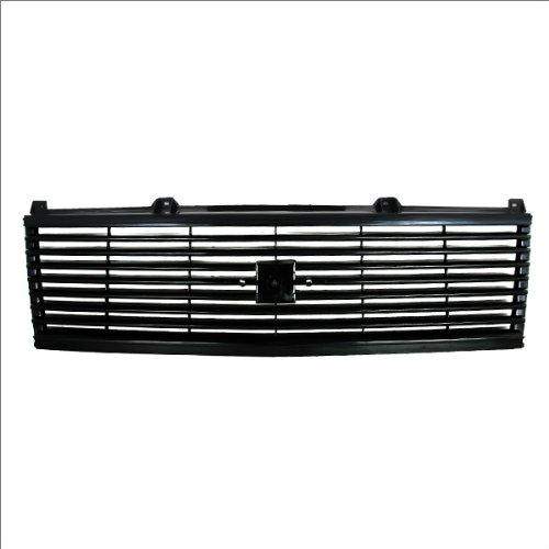 Van Chevrolet 1985 Astro 85 (CarPartsDepot, Van Front Black Upper Grille Grill w/o Sport Package Black Plastic Replacement, 400-15751 GM1200335?14066711??)