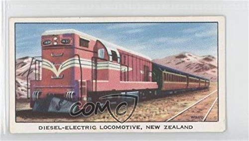 Diesel-Electric Locomotive, New Zealand Ungraded COMC Good to VG-EX (Trading Card) 1962 Kellogg The Story of the Locomotive Series 2 - Food Issue [Base] #16