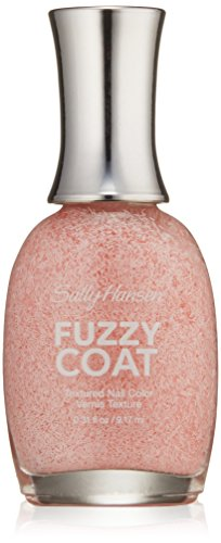 Sally Hansen Fuzzy Coat Textured Nail Color, Wool Lite, 0.31 Fluid Ounce