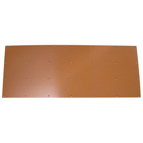 16 x 40 Drilled Phenolic Kickback Plate DBA179857P by Classic