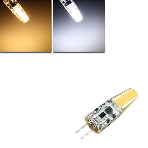 Lights & Lighting - G4 2w Cob Filament Led Spot Light Bulb Lamp Warm/Pure White Ac/Dc 10-20v - Bulb 12volt Bulbs Halogen Volt - 12 G4 Led - 1PCs