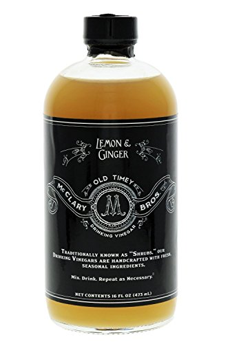 MCCLARY BROS Lemon Ginger Vinegar, 16 FZ