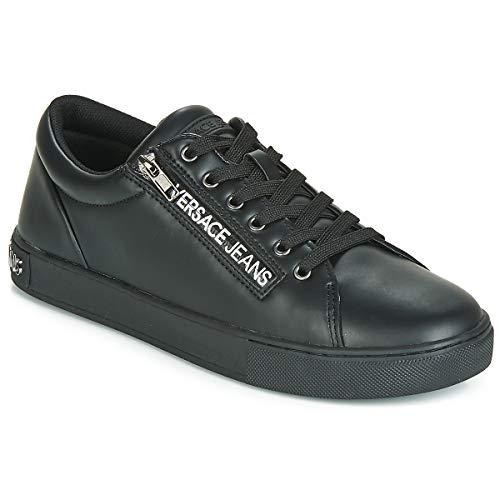 899 Sneaker nero Uomo Jeans Shoes Nero Versace Couture qwOZY0