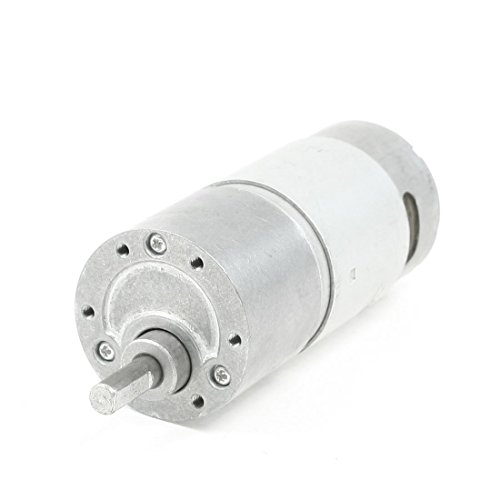 UXcell 300RPM 12V 0.6A High Torque Electric Speed Reduce ...